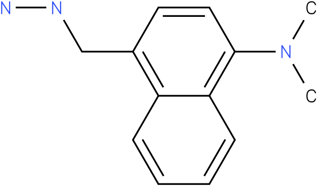 (4-Dimethylamino-naphthalen-1-ylmethyl)-hydrazine