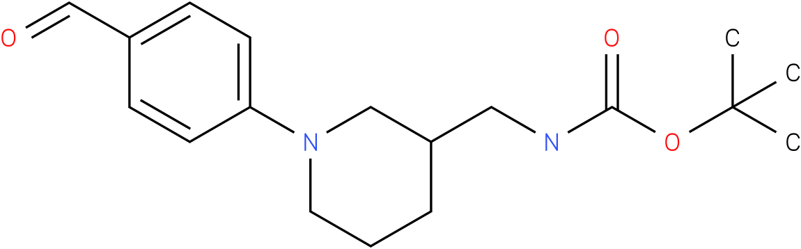 [1-(4-formyl-phenyl)-piperidin-3-ylmethyl]-carbamic acid tert-butyl ester