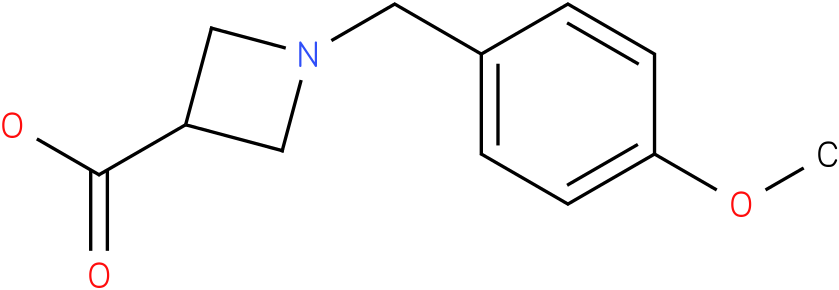 1-(4-methoxybenzyl)azetidine-3-carboxylic acid