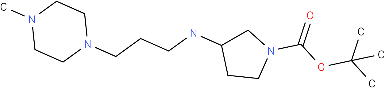 1-Boc-3-[(4-Methyl-piperazin-1-ylpropyl)-amino]-pyrrolidine
