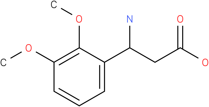 3-Amino-3-(2,3-dimethoxy-phenyl)-propionic acid