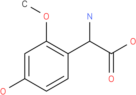 Amino-(4-hydroxy-2-methoxy-phenyl)-acetic acid