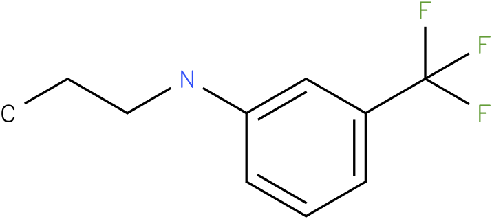 Propyl-(3-trifluoromethyl-phenyl)-amine
