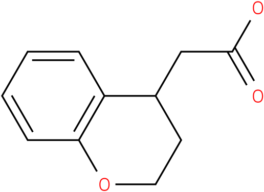 2-(3,4-dihydro-2H-chromen-4-yl)acetic acid