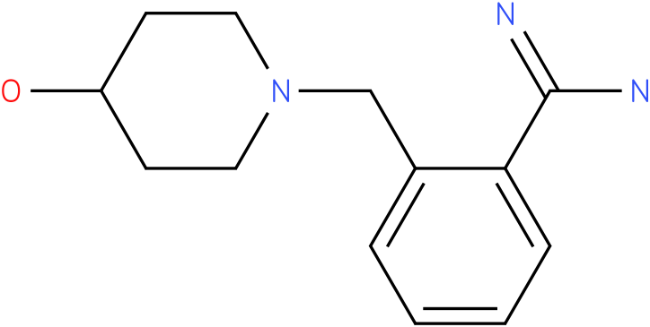 2-(4-hydroxy-piperidin-1-ylmethyl)-benzamidine