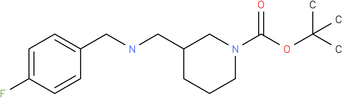 1-Boc-3-[(4-Fluoro-benzylamino)-methyl]-piperidine