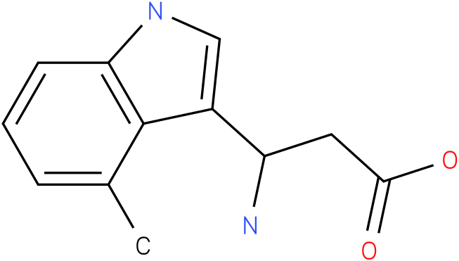 3-Amino-3-(4-methyl-indol-3-yl)-propionic acid