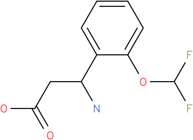 3-Amino-3-(2-difluoromethoxyphenyl)-propionic acid