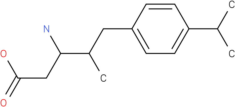 3-Amino-4-(4-isopropyl-benzyl)-pentanoic acid