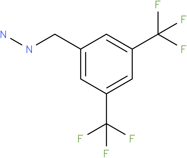 3,5-Ditrifluoromethyl-benzyl-hydrazine