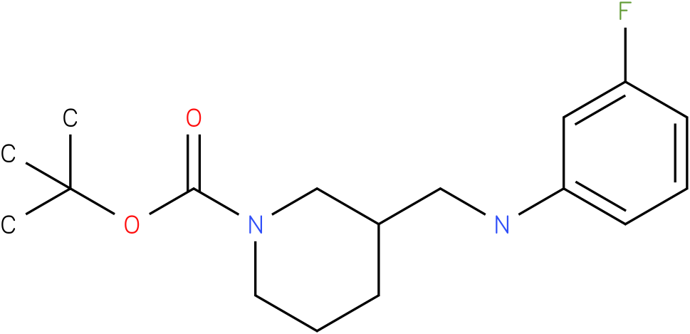 1-Boc-3-[(3-Fluoro-phenylamino)-methyl]-piperidine