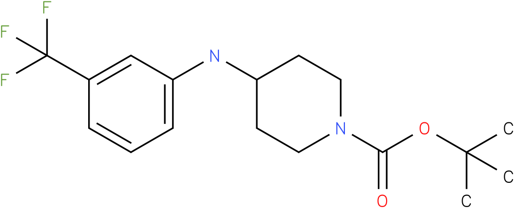 1-Boc-4-(3-Trifluoromethyl-phenylamino)-piperidine