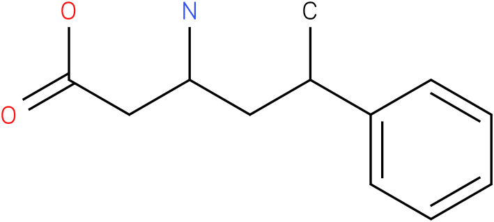 3-Amino-5-phenyl-hexanoic acid