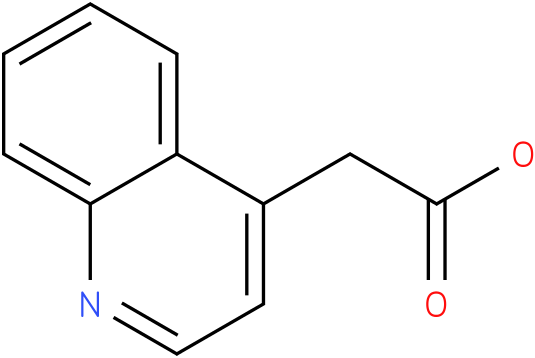 2-(quinolin-4-yl)acetic acid
