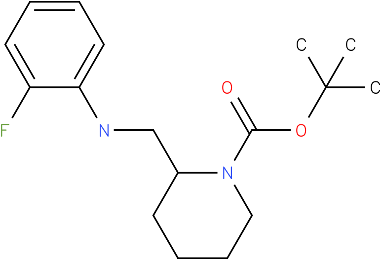 1-Boc-2-[(2-Fluoro-phenylamino)-methyl]-piperidine