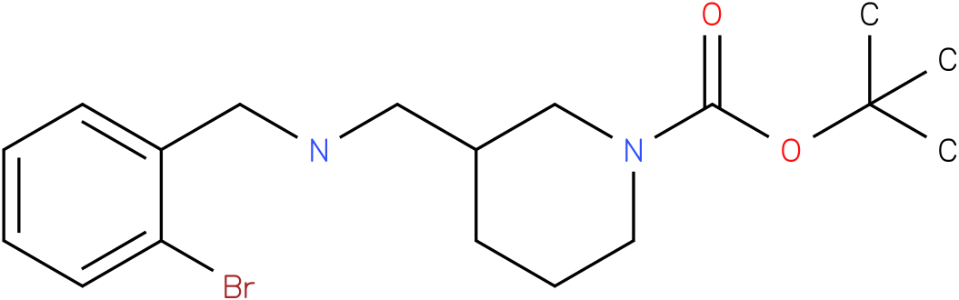 1-Boc-3-[(2-Bromo-benzylamino)-methyl]-piperidine