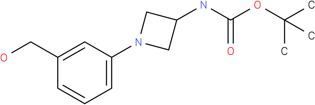 [-(3-hydroxymethyl-phenyl)-azetidin-3-yl]-carbamic acid tert-butyl ester