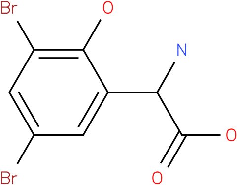 Amino-(3,5-dibromo-2-hydroxy-phenyl)-acetic acid