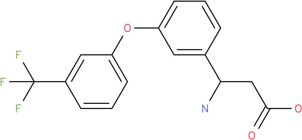 3-Amino-3-[3-(3-trifluoromethyl-phenoxy)-phenyl]-propionic acid