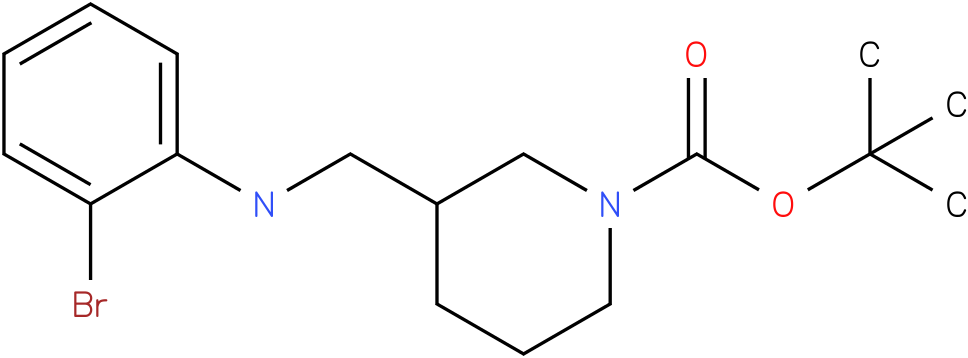 1-Boc-3-[(2-Bromo-phenylamino)-methyl]-piperidine