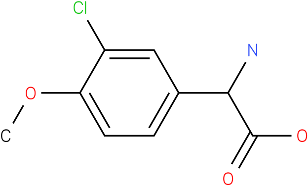 Amino-(3-chloro-4-methoxy-phenyl)-acetic acid
