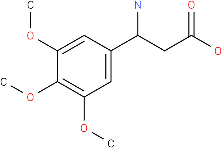 3-Amino-3-(3,4,5-trimethoxy-phenyl)-propionic acid
