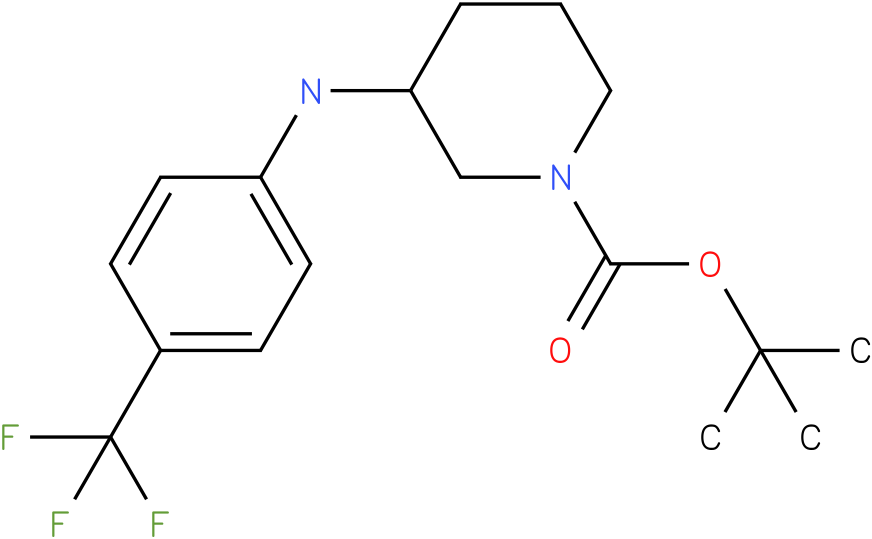 1-Boc-3-(4-Trifluoromethyl-phenylamino)-piperidine