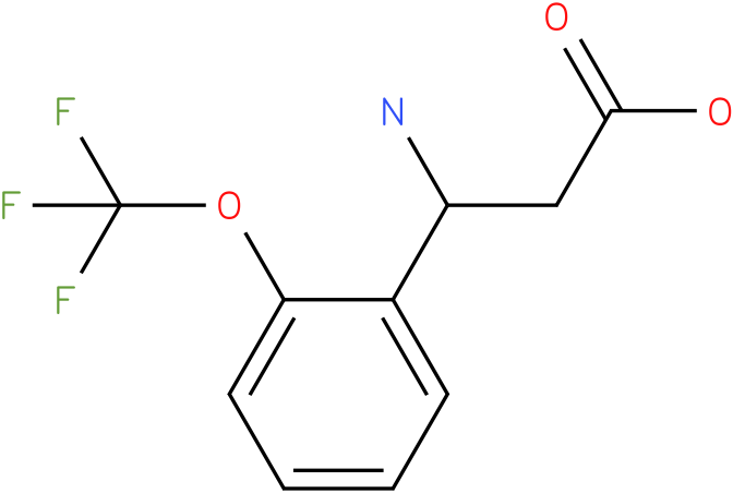 3-Amino-3-(2-trifluoromethoxyphenyl)-propionic acid