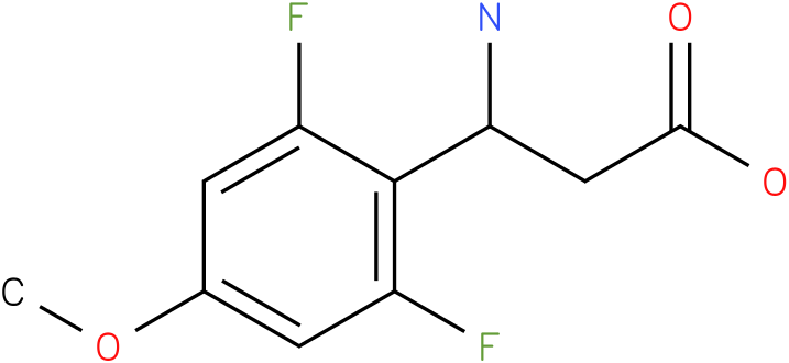 3-Amino-3-(2,6-difluoro-4-methoxy-phenyl)-propionic acid
