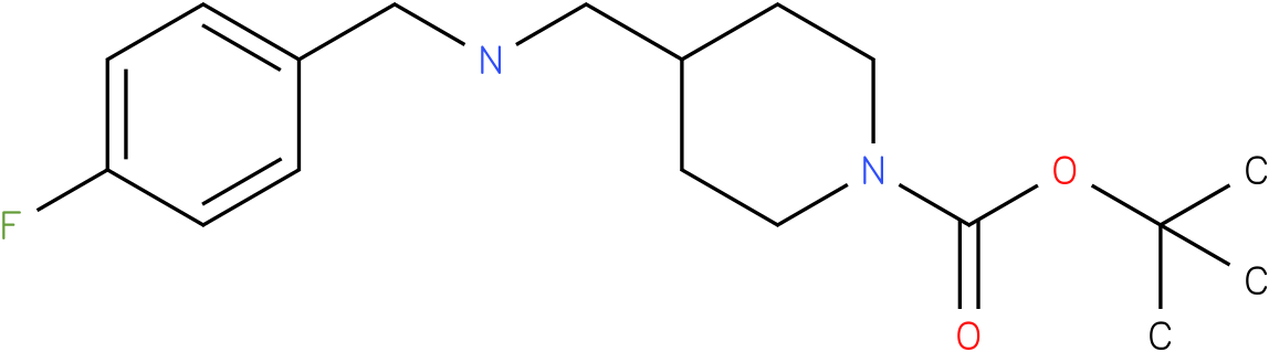 1-Boc-4-[(4-Fluoro-benzylamino)-methyl]-piperidine