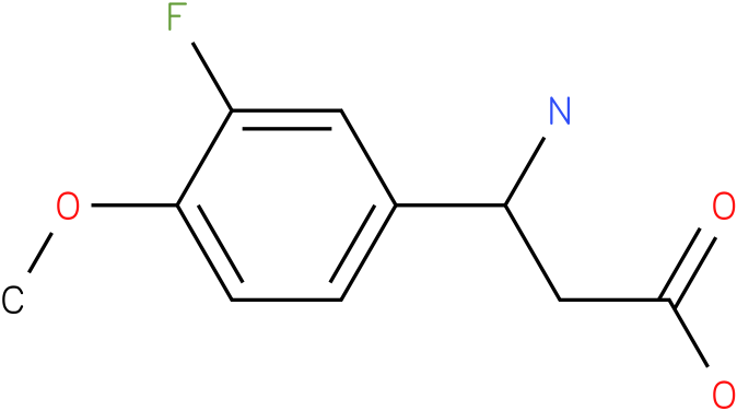 3-Amino-3-(3-fluoro-4-methoxy-phenyl)-propionic acid