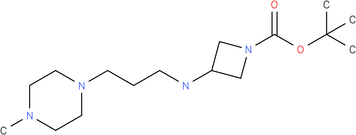 1-Boc-3-[(4-Methyl-piperazin-1-ylpropyl)-amino]-azetidine