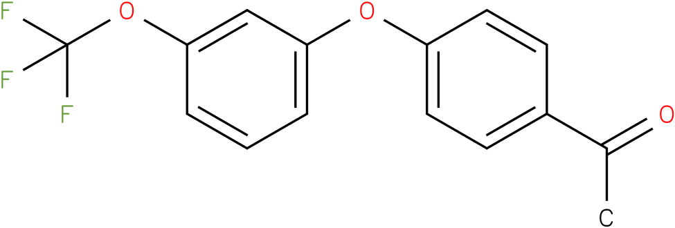 1-[4-(3-trifluoromethoxy-phenoxy)-phenyl]-ethanone