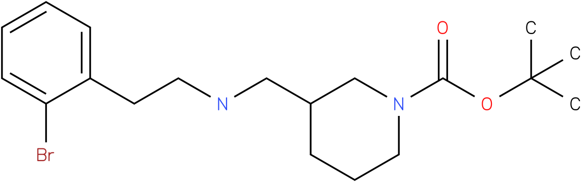 1-Boc-3-{[2-(2-Bromo-phenyl)-ethylamino]-methyl}-piperidine