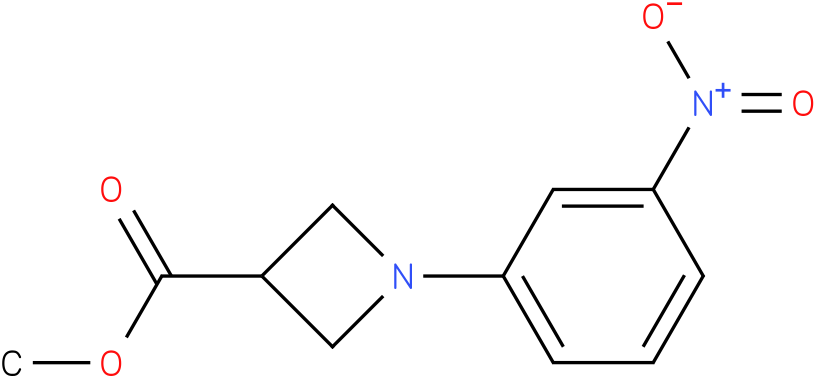 1-(3-Nitro-phenyl)-azetidine-3-carboxylic acid methyl ester