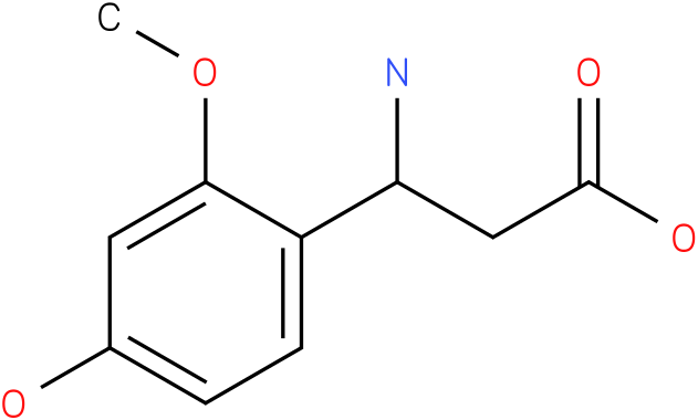 3-Amino-3-(4-hydroxy-2-methoxy-phenyl)-propionic acid