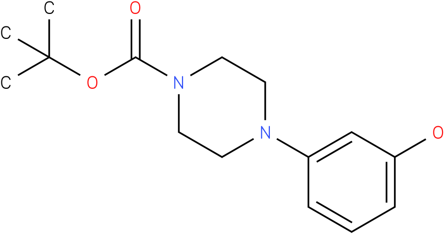 1-(3-hydroxy-phenyl)-piperazine-4-carboxylic acid tert-butyl ester