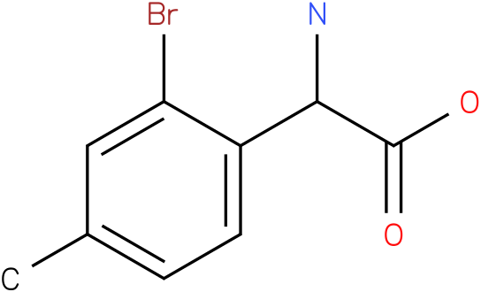 Amino-(2-bromo-4-methyl-phenyl)-acetic acid