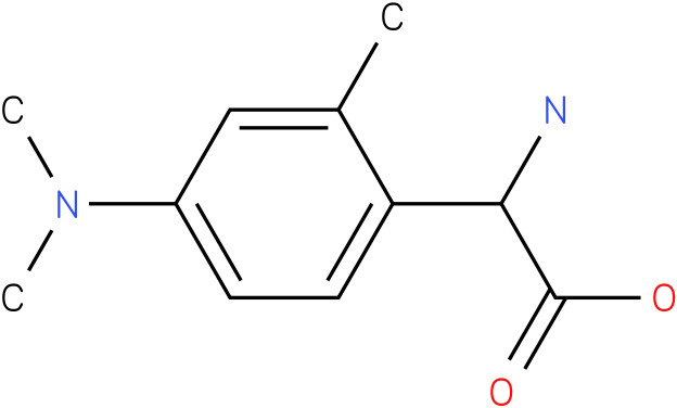 Amino-(2-methyl-4-dimethylamino-phenyl)-acetic acid
