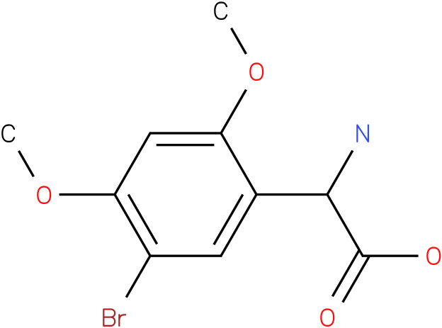 Amino-(5-bromo-2,4-dimethoxy-phenyl)-acetic acid