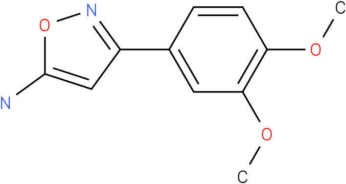 3-(3,4-Dimethoxy-phenyl)-isoxazol-5-ylamine