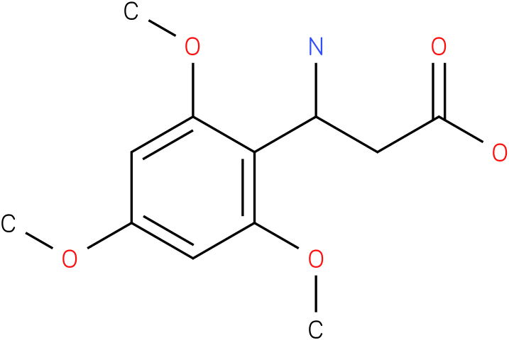 3-Amino-3-(2,4,6-trimethoxy-phenyl)-propionic acid