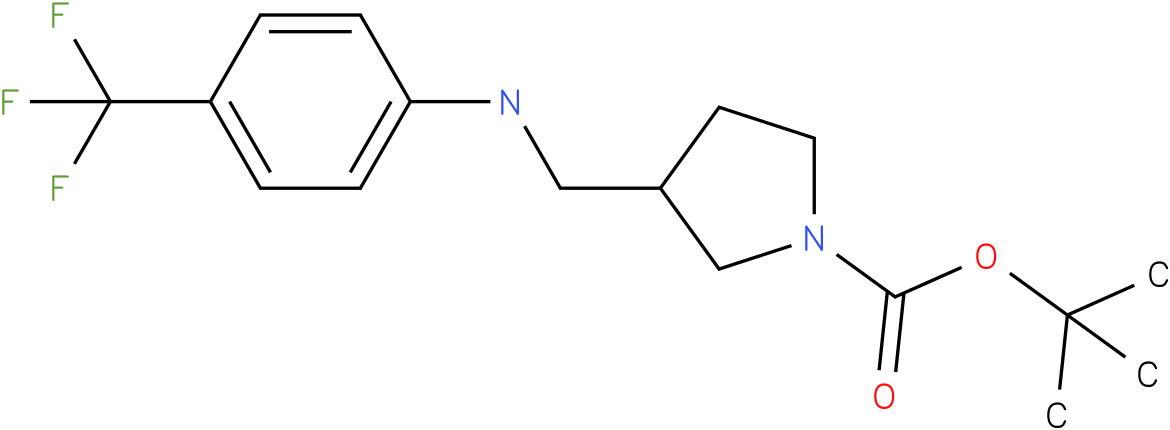 1-Boc-3-{[(4-Trifluoromethyl-phenyl)-amino]-methyl}-pyrrolidine