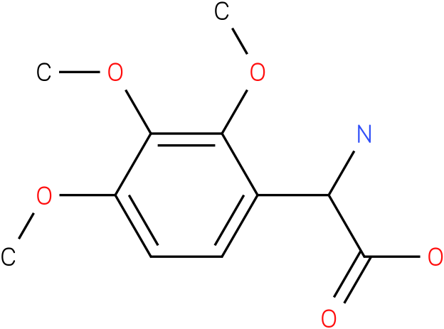 Amino-(2,3,4-trimethoxy-phenyl)-acetic acid
