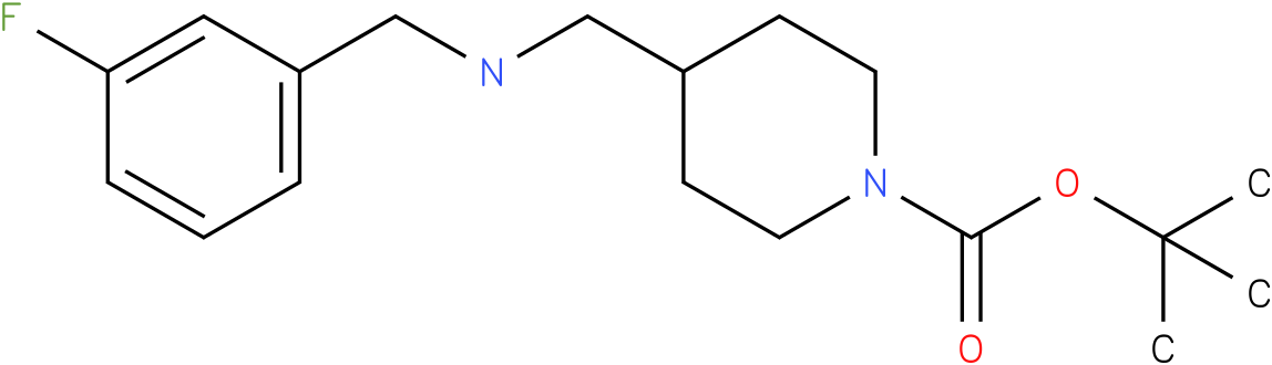 1-Boc-4-[(3-Fluoro-benzylamino)-methyl]-piperidine