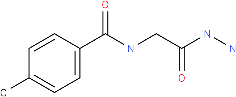 2-(4-Methylbenzamido)acetic acid hydrazide