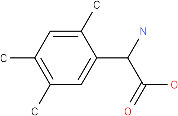 Amino-(2,4,5-trimethyl-phenyl)-acetic acid