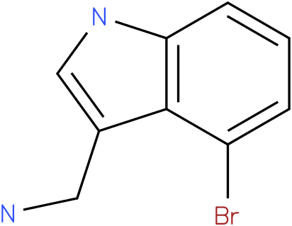 4-bromo-1H-indol-3-methylamine