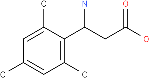 3-Amino-3-(2,4,6-trimethyl-phenyl)-propionic acid