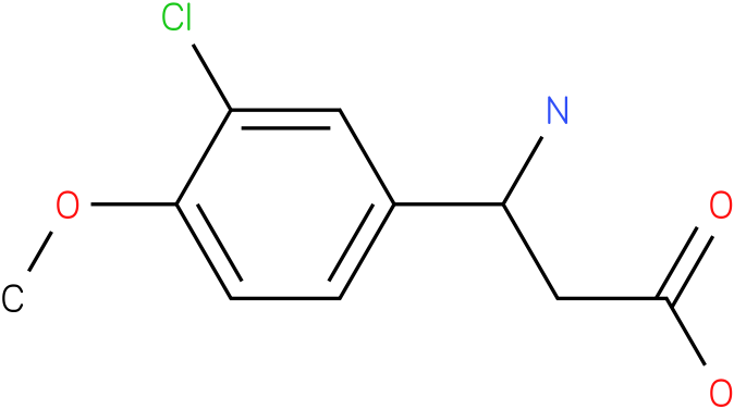 3-Amino-3-(3-chloro-4-methoxy-phenyl)-propionic acid